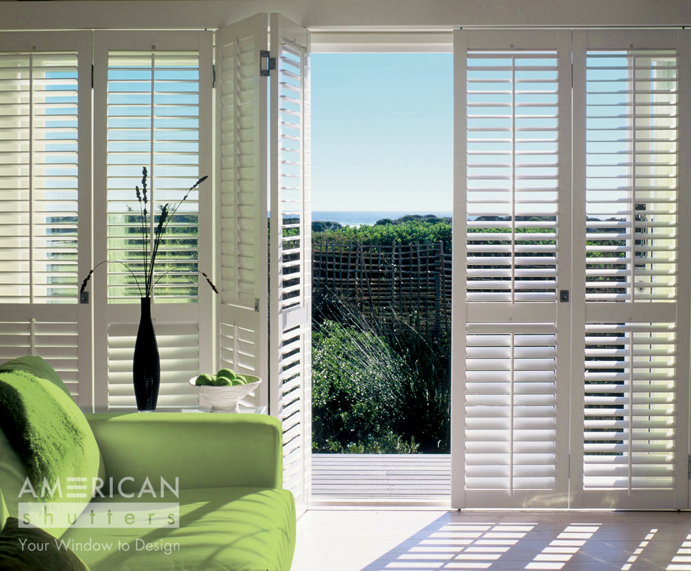 Be tempted with AMERICAN shutters