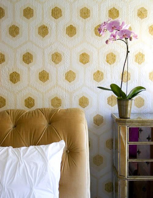 honeycomb paint effect