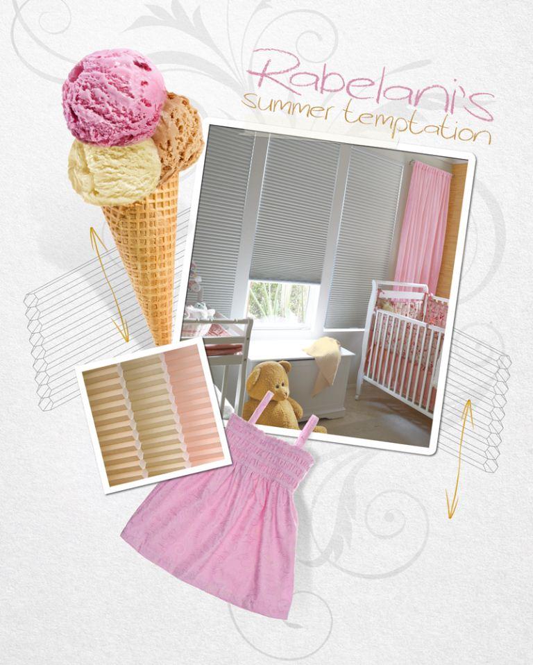 Ice-cream dreams décor inspiration for a little girl