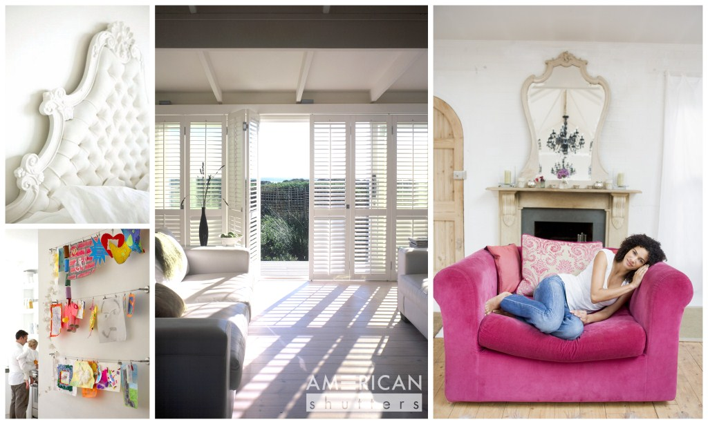 Love your home with AMERICAN shutters