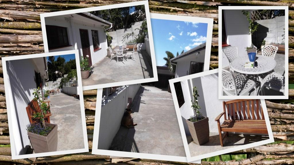 Karen's patio before photos