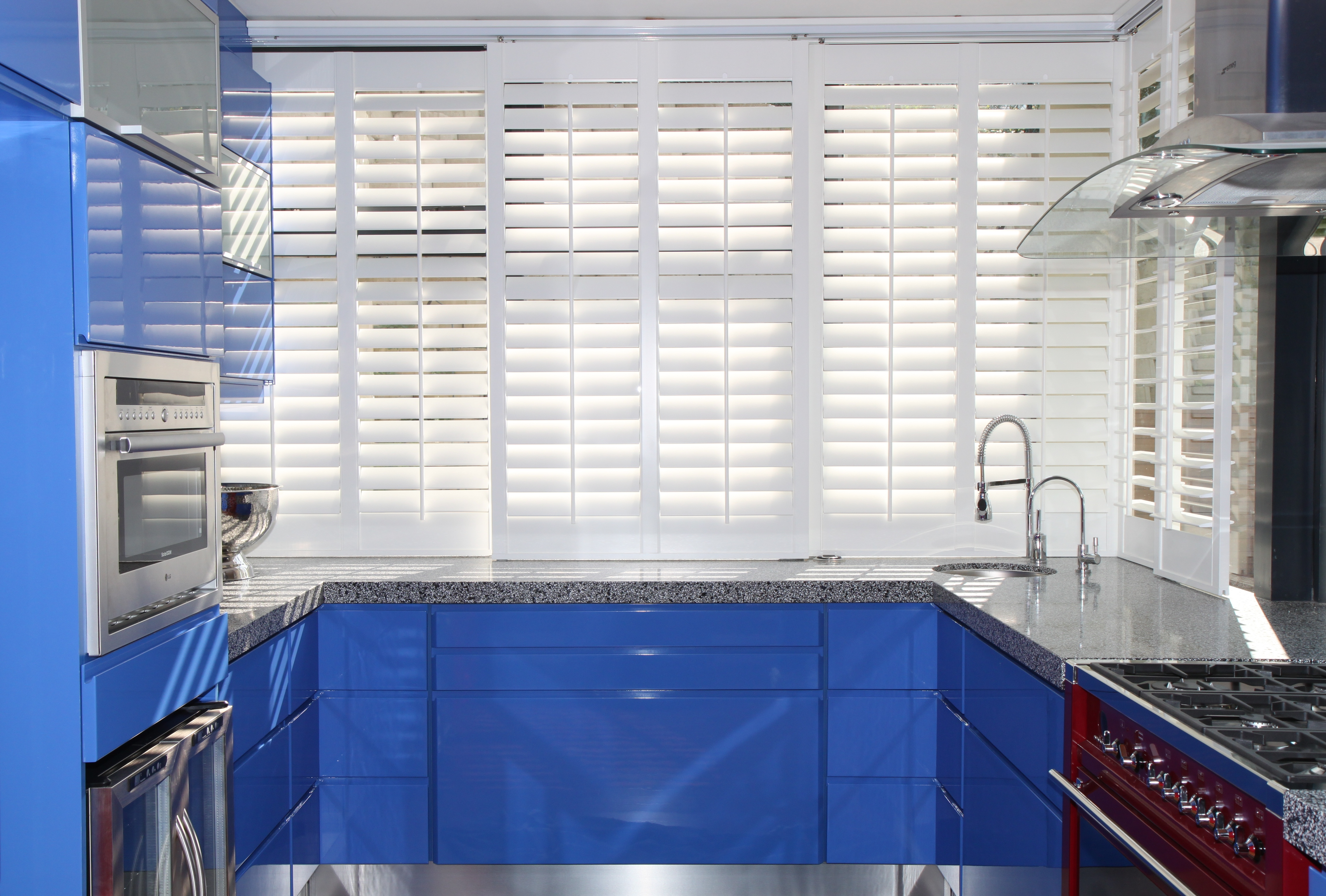 Be inspired by our kitchen shutter gallery