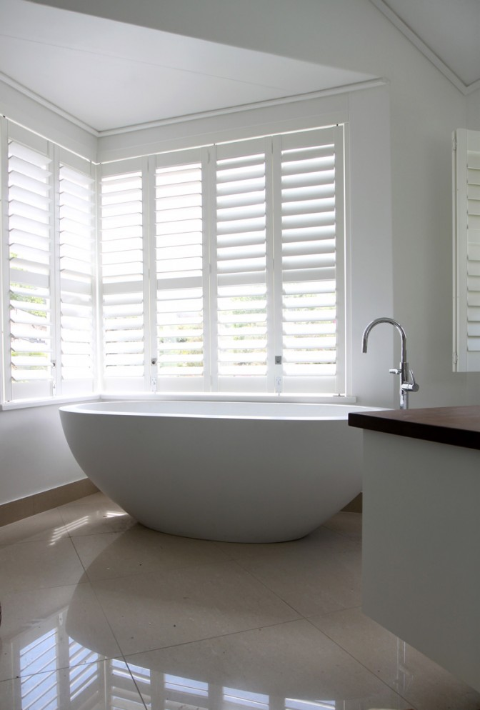 Woodbury waterproof shutters