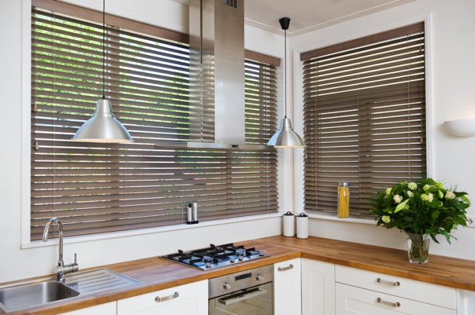 Kitchen Blinds American Shutters