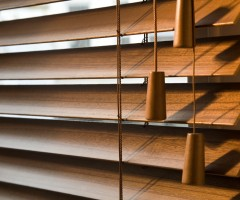 Wooden-slat-blinds