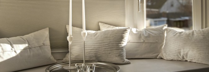 Cellular Shades, also called Honeycomb Blinds