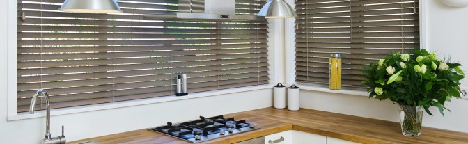 Wooden Slat Blinds