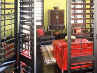 shutters as room divide