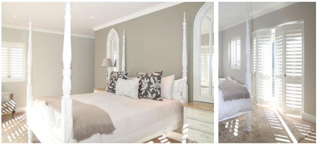 guest bedroom shutters