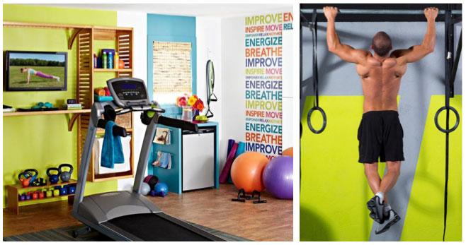 home gym decor