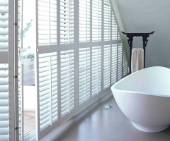 Special Shape Bathroom Shutters