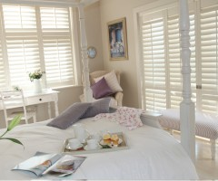 Girls Room White Shutters