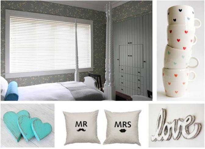 romantic bedroom blinds