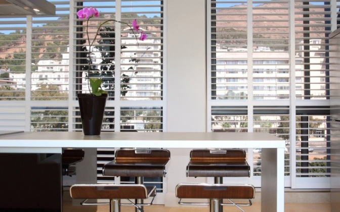 4. Normandy shutters in modern style kitchen