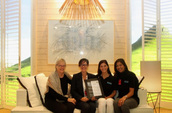 from left to right: Dawn Dickerson, Kim van Greunen, Genevieve Palmer, Shaheeda Mohammed