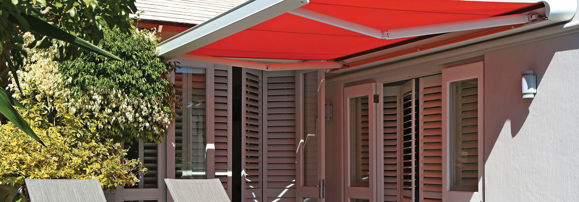 Throw Shade at Summer with Shutters and Awnings
